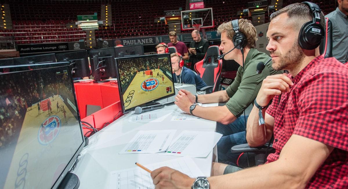 Paul Gudde - Basketball Komentator